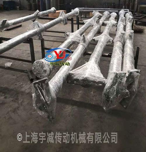 7台防爆反应釜搅拌器组装加工发货